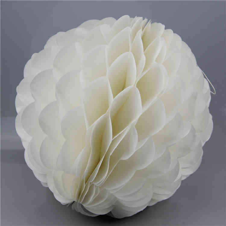 Special shaped Tissue Paper Honeycomb Ball