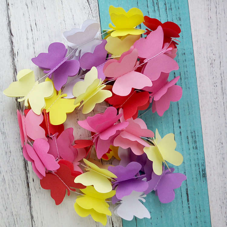 paper butterfly decoration