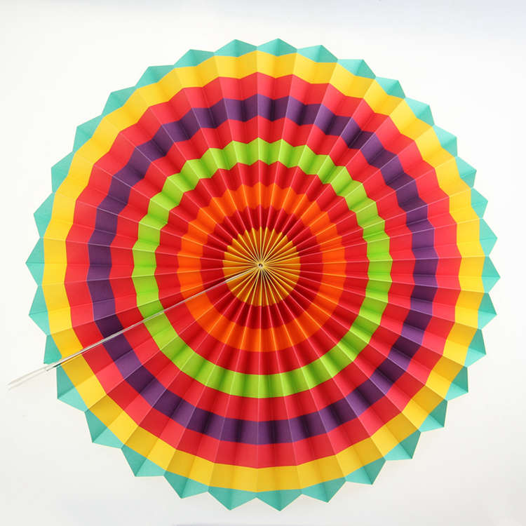 craft paper fan