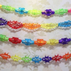 Tissue Paper Honeycomb Garland