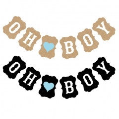 Baby Shower Banner oh Boy